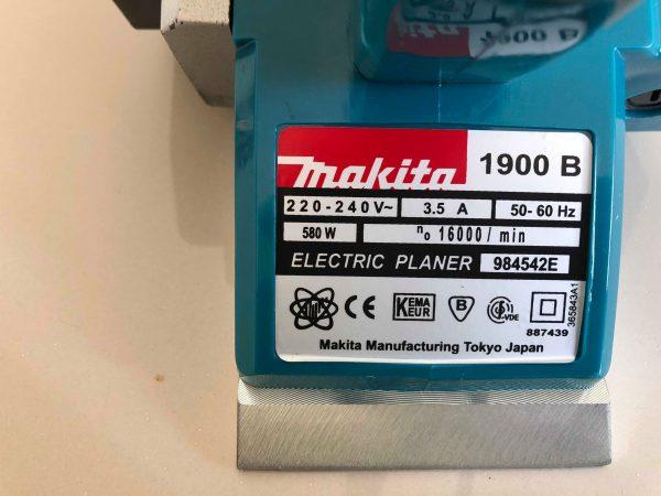 กบไฟฟ้า3นิ้ว Makita รุ่น1900B 2