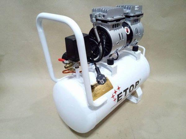 ปั้มลม 30 ลิตร ETOP2150 รุ่นเสียงเงียบ (Oil Free) 2