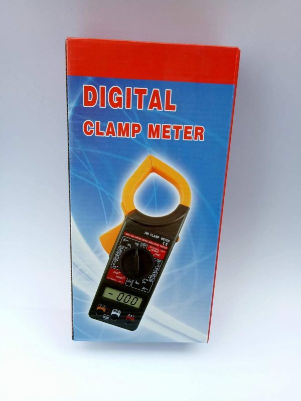 เครื่องวัดกระแสไฟฟ้าและแรงดัน Digital Clamp Meter 2