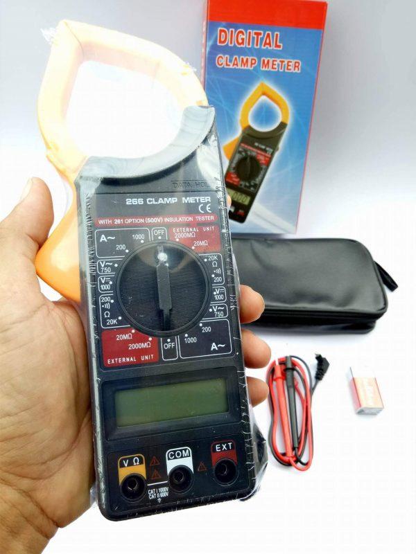 เครื่องวัดกระแสไฟฟ้าและแรงดัน Digital Clamp Meter 1