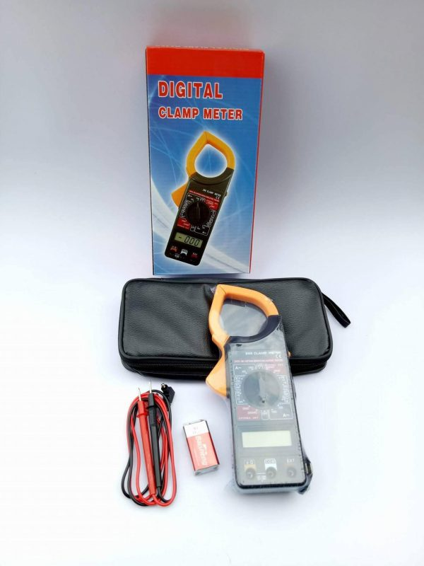 เครื่องวัดกระแสไฟฟ้าและแรงดัน Digital Clamp Meter 3