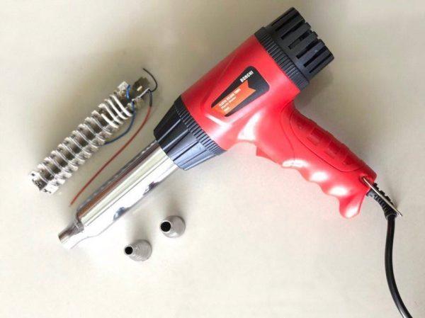 ปืนเชื่อม PVC พลาสติก 3