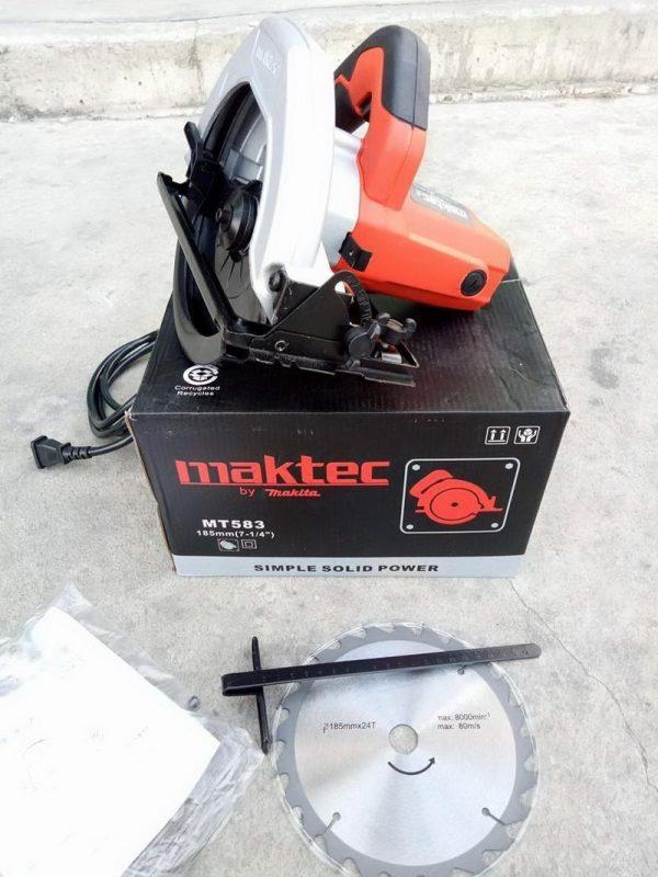 เลื่อยวงเดือน MAKTEC 7 นิ้ว MT583 2