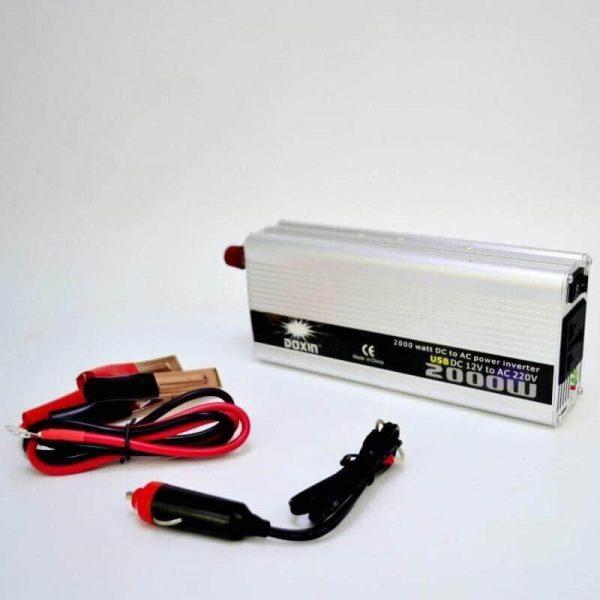 อินเวอร์เตอร์ แปลงไฟ 12 V เป็น 220 V ขนาด 2,000 W 1
