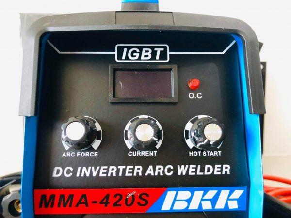 ตู้เชื่อม BKK 3 ปุ่ม. MMA -420 s 2