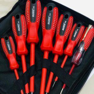 ไขควงกันไฟ RUIKE 7 ตัวชุด(ด้ามแดง) 3