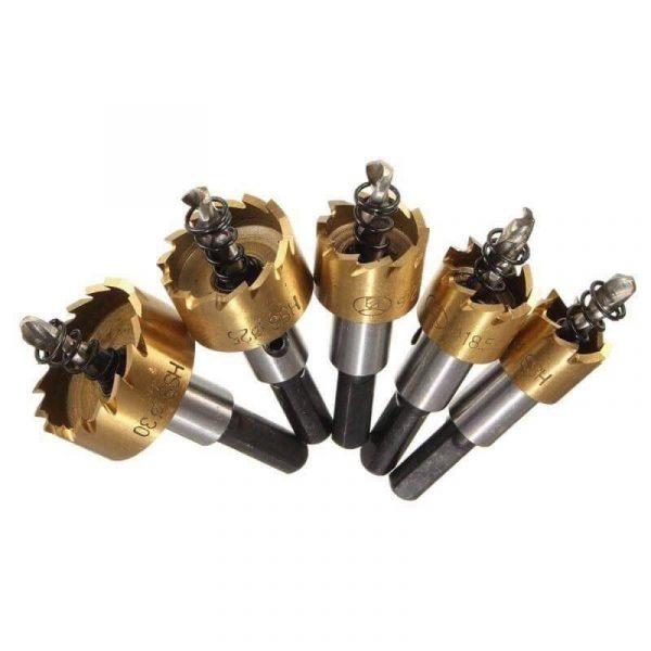 ชุดดอกโฮลซอร์ เจาะเหล็ก อลูมิเนียม 6-30 มิล ชุด 5 ดอก 3