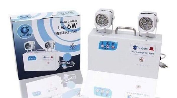 ไฟฉุกเฉิน EMERGENCY LIGHT LED 6w IWACHI 1